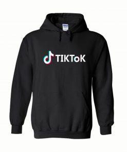 TikTok Black Hoodie