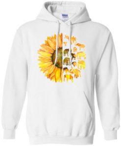 Elephant Sunflower Hoodie