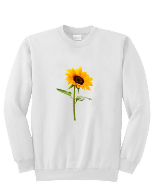 Flower Sunflower Sweatshirt