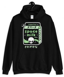 Pastel Goth Alien Space Hoodies