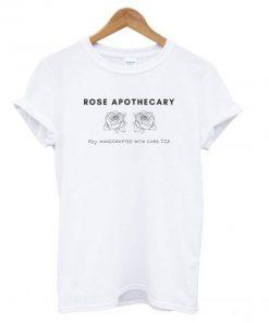 Rose Apothecary White T shirt